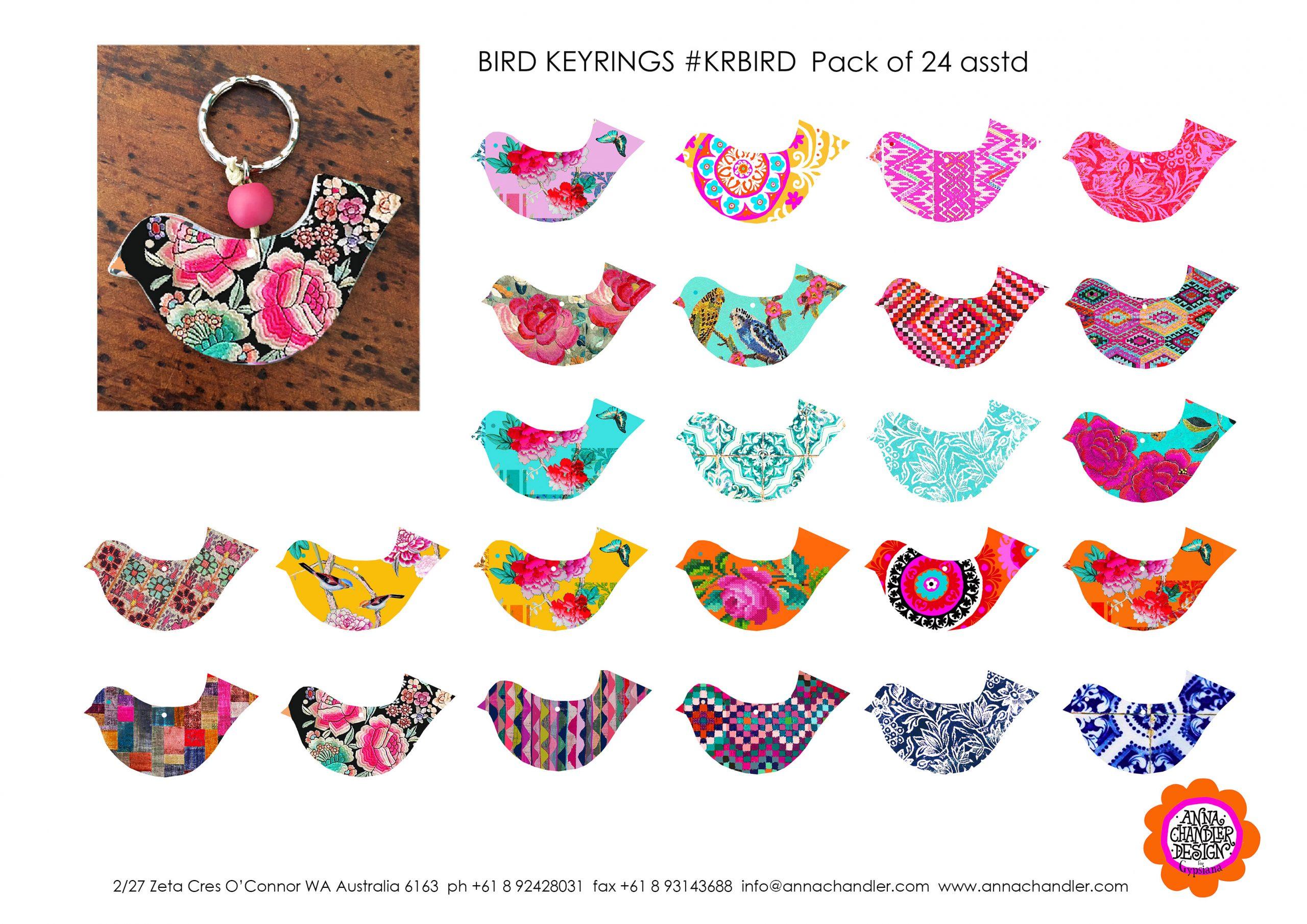 Keyrings bird