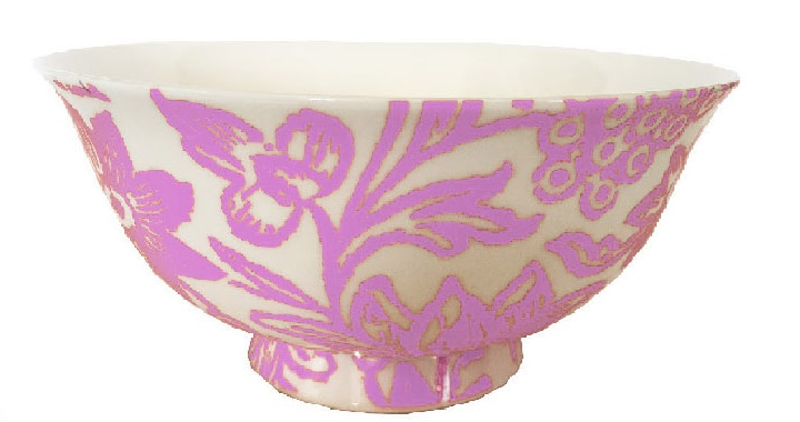 Fine Bone china bowls in Pale pink set of 4