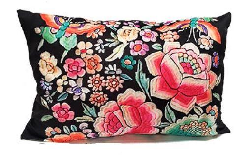 Velvet Cushion Phoenix
