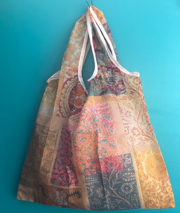 FOld Up SHopping bag venezia gold