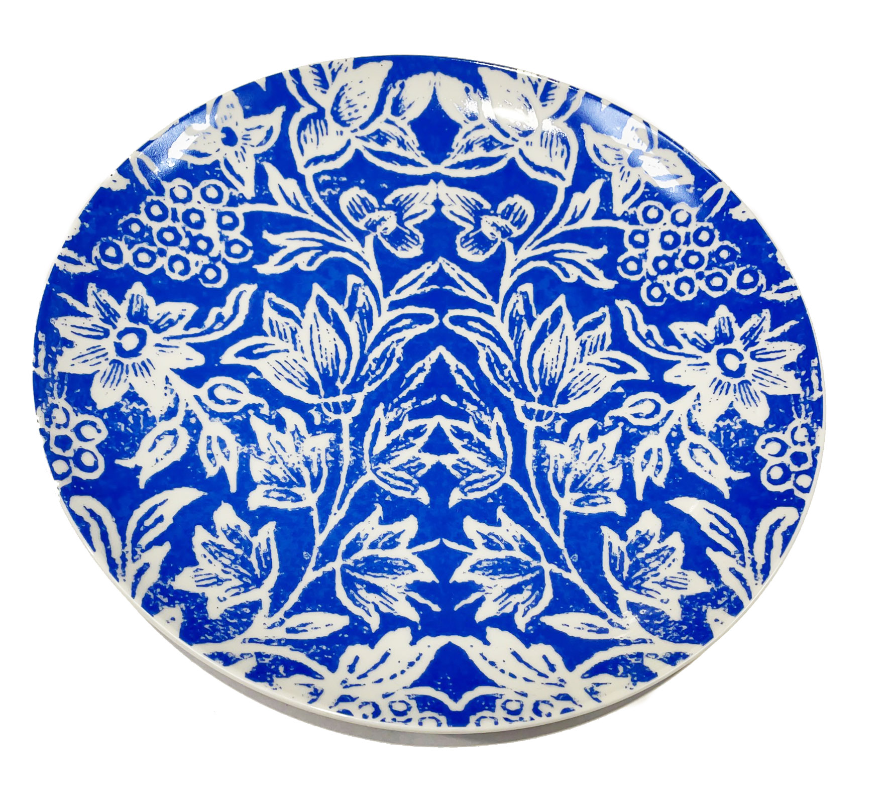 Dinner Plates set Cornflower Blue