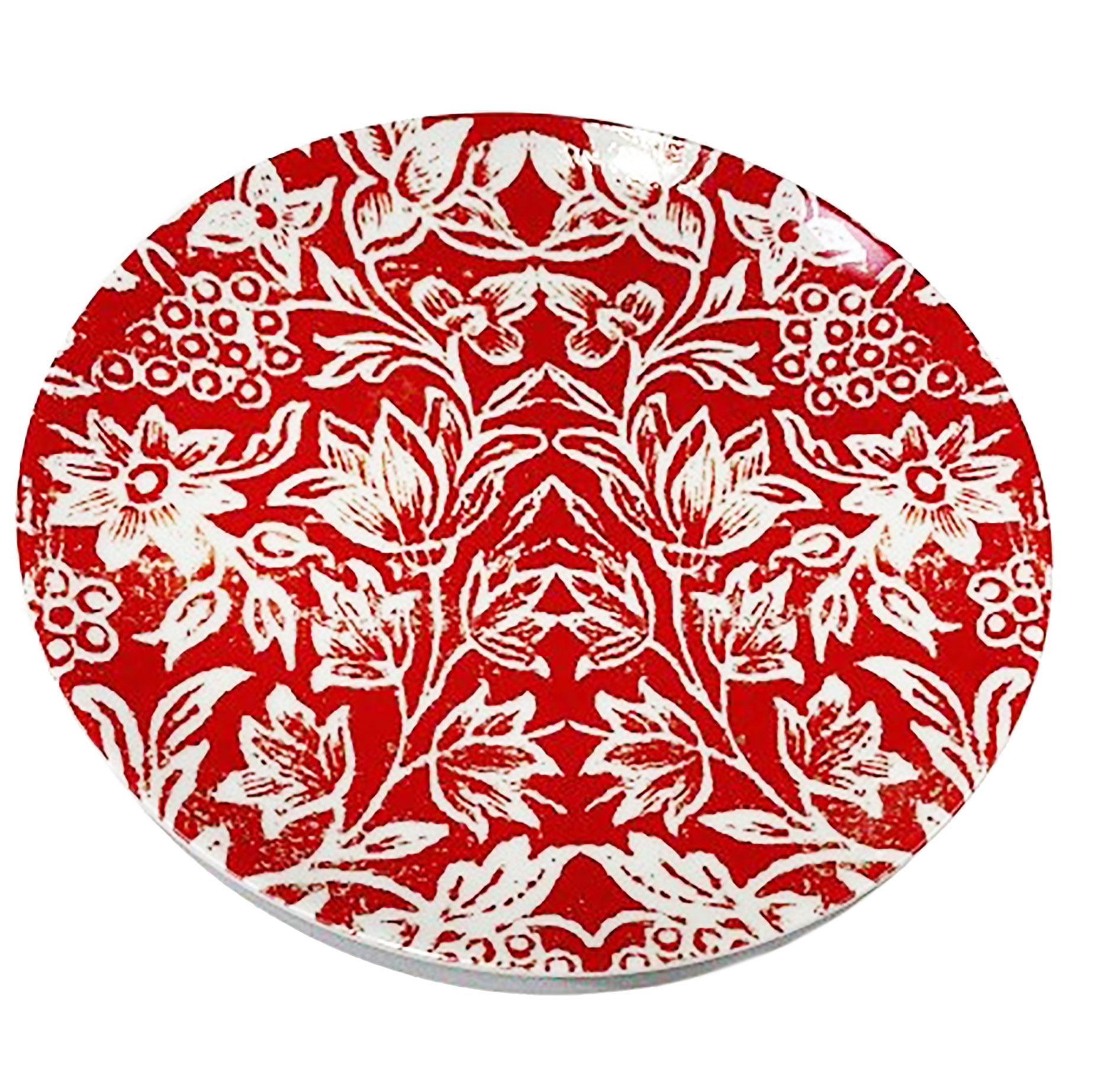 Dinner Plate Watermelon Red