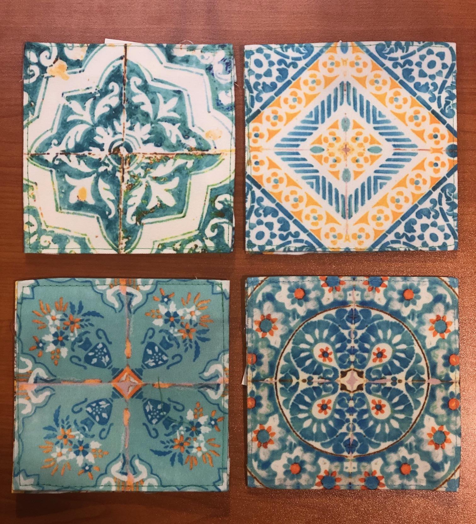 Canvas Coasters SIcilia