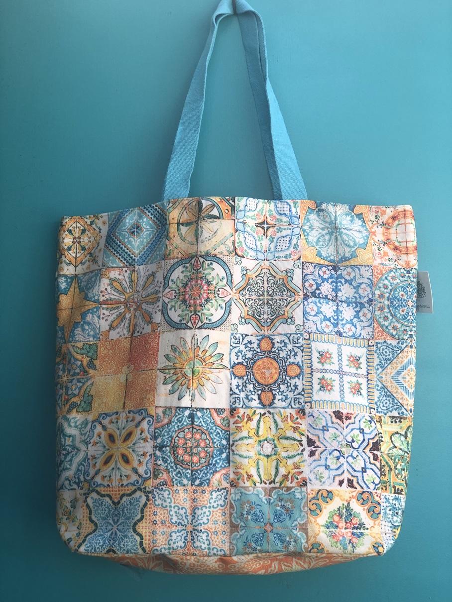 Canvas Double Bag in Sicilia Design