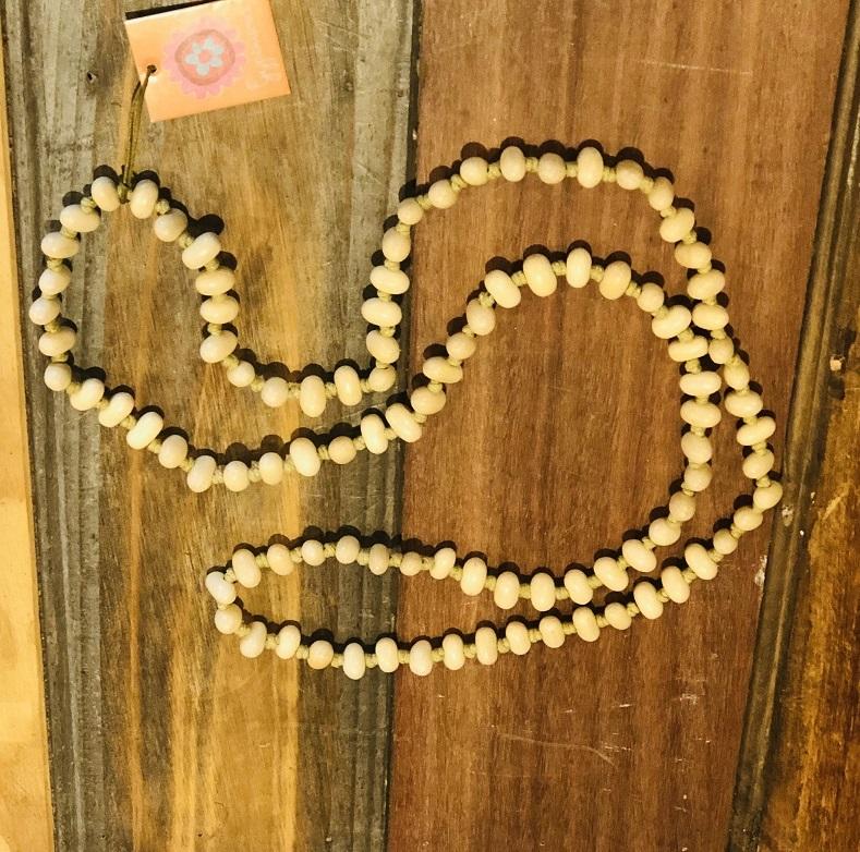 jellybean necklace natural