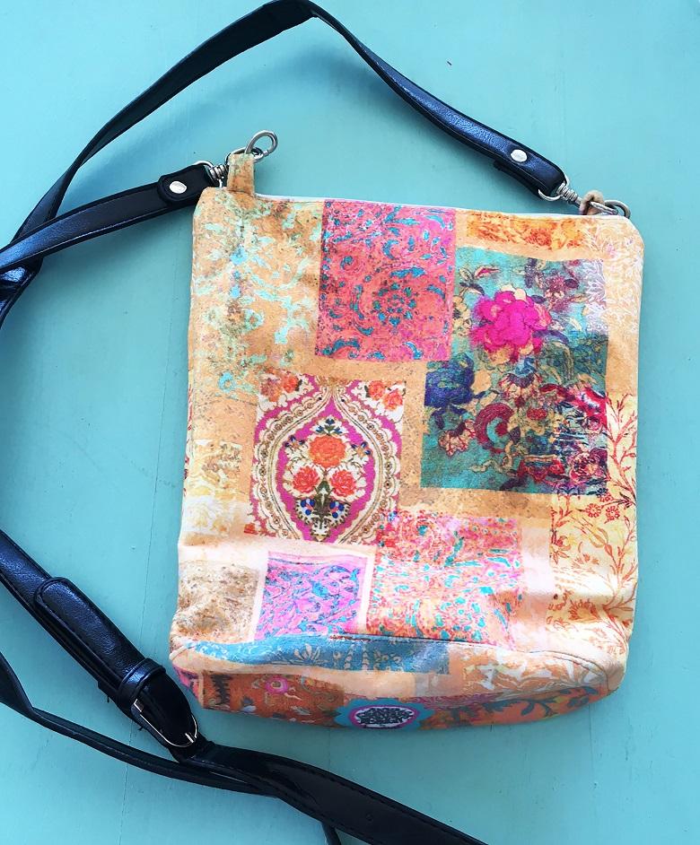 Leather Handle Bag Venezia Gold