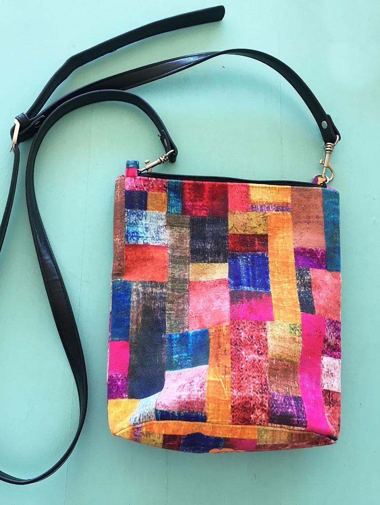 Velvet Bag Leather Handler Velvet Patches