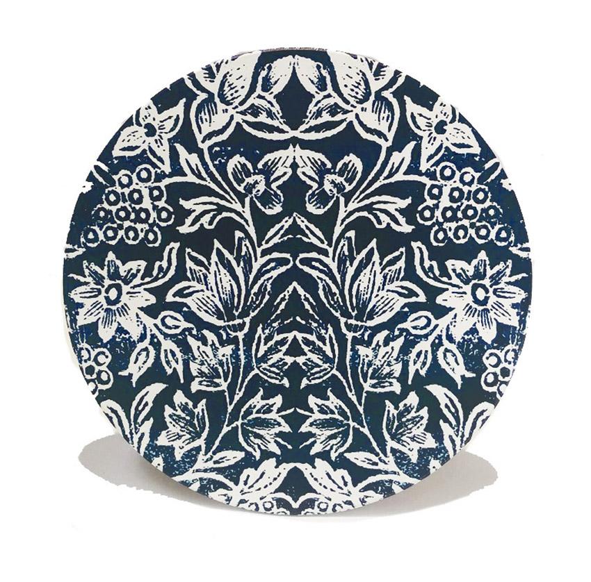 Ceramic Trivets Indigo