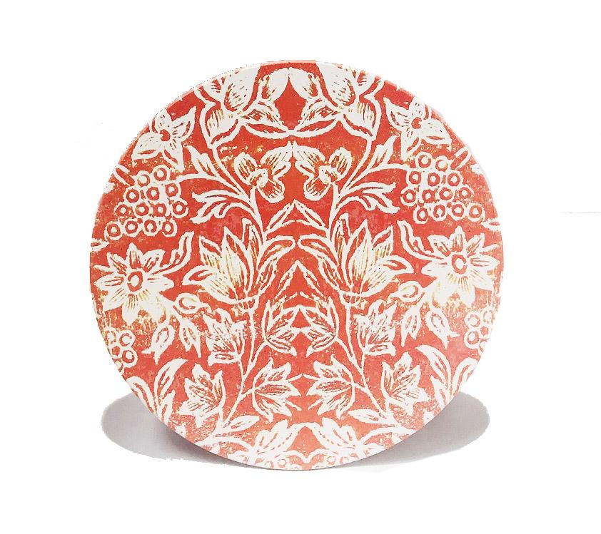 Ceramic Trivet Orange