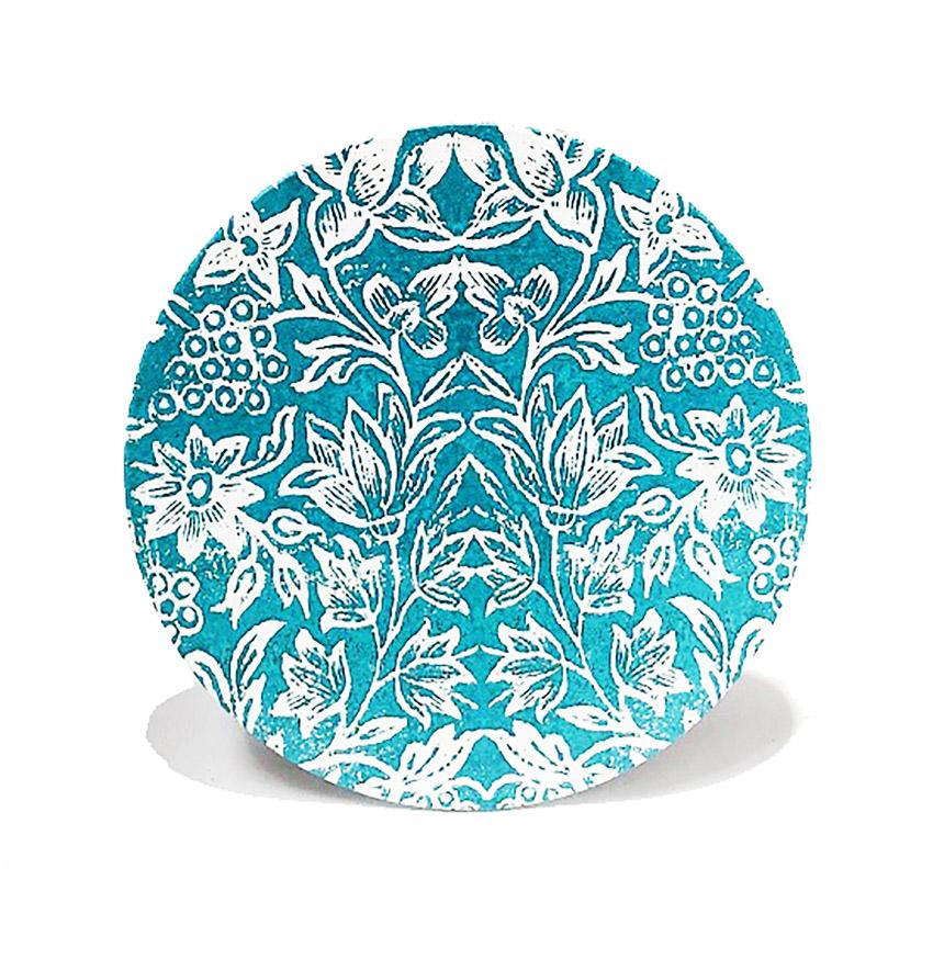 Ceramic Trivets Turquoise
