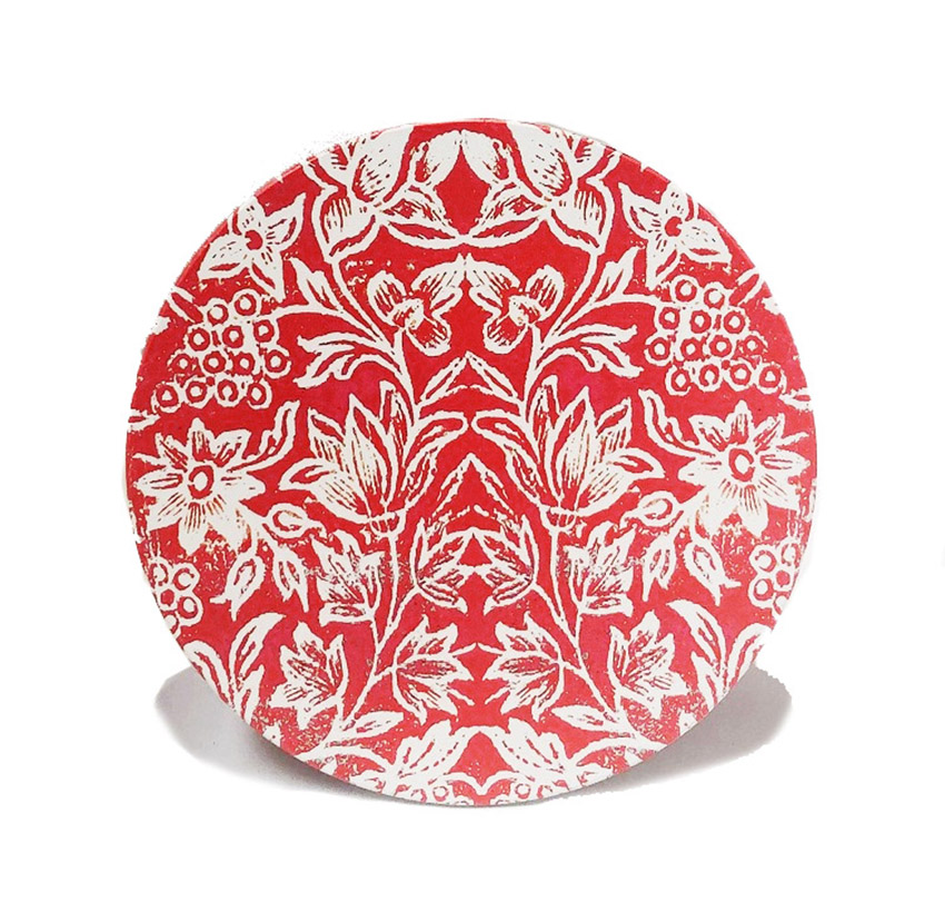 Ceramic Trivet Watermelon Red