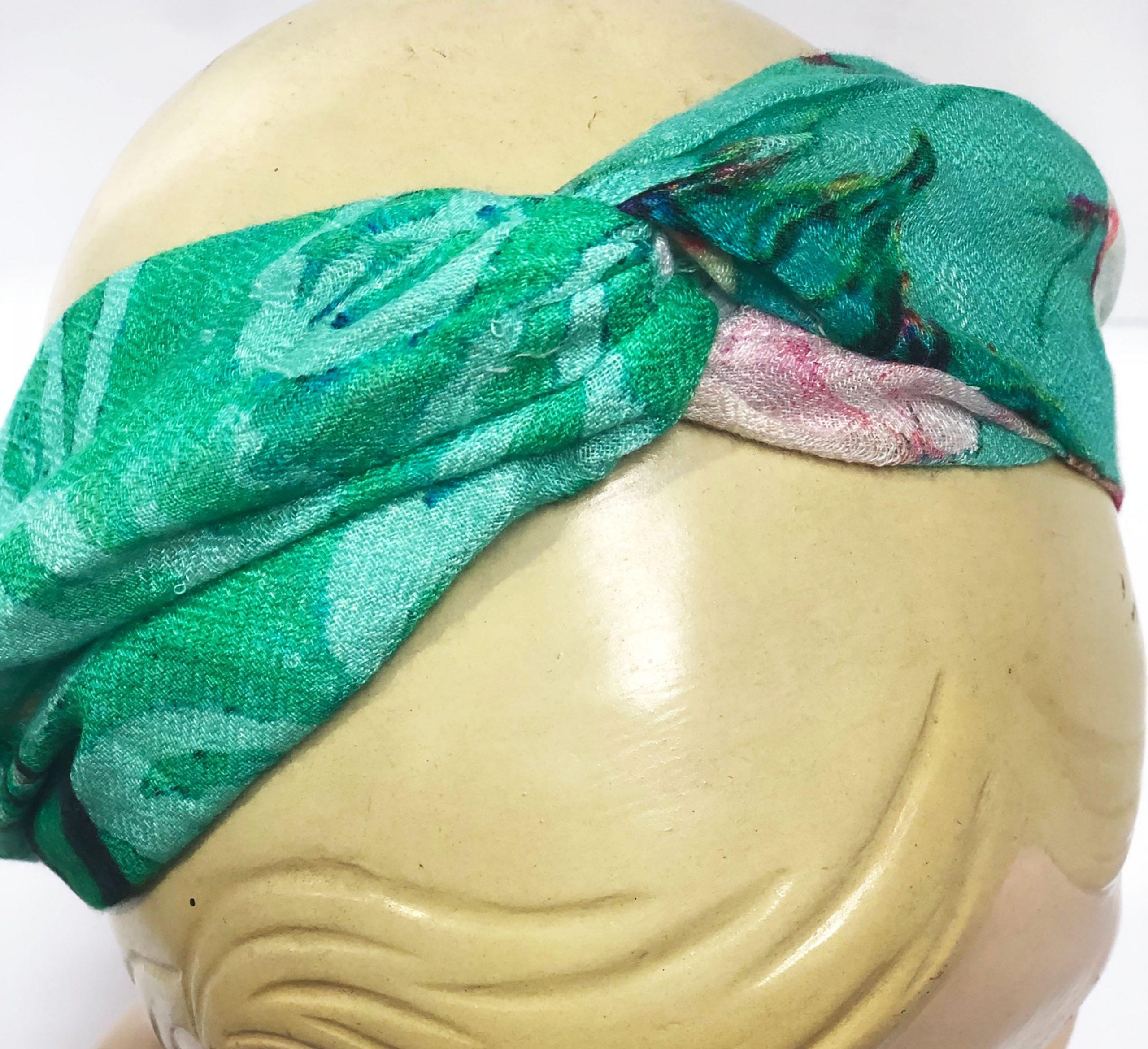 Modal Head Band Green