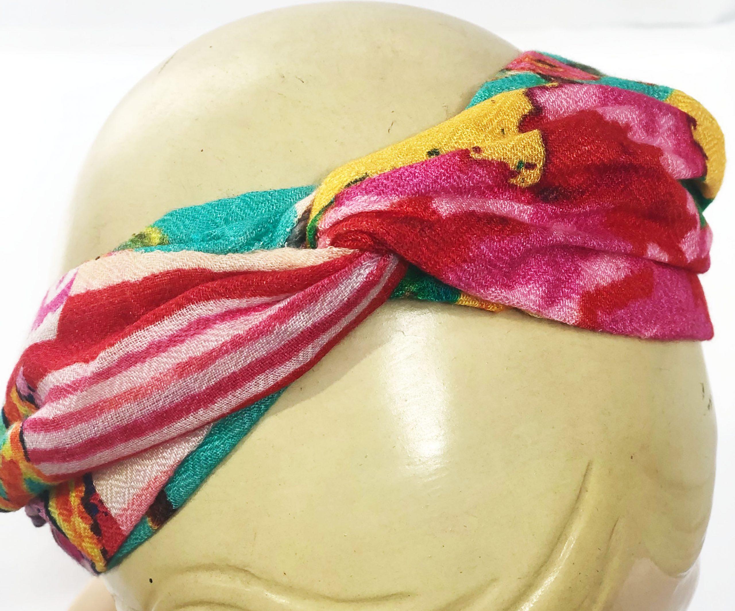 Modal Head Band Printemps Spring Colours