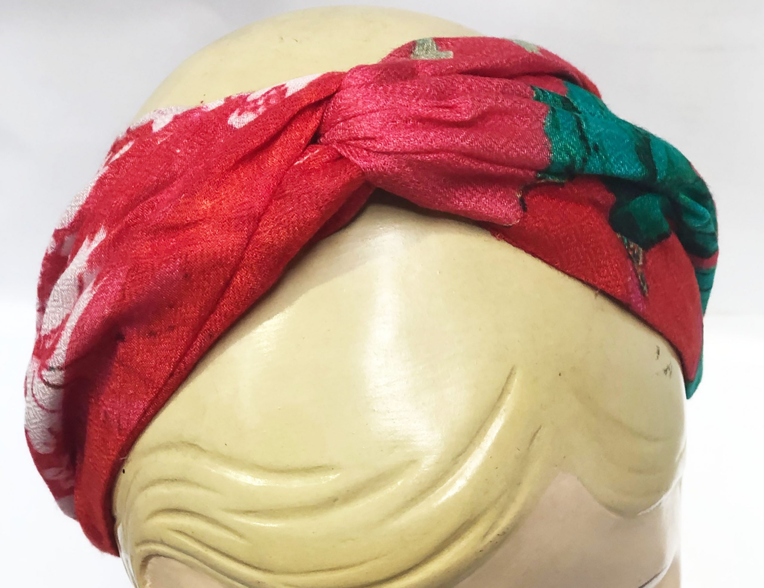 Modal Head Band in Watermelon Red