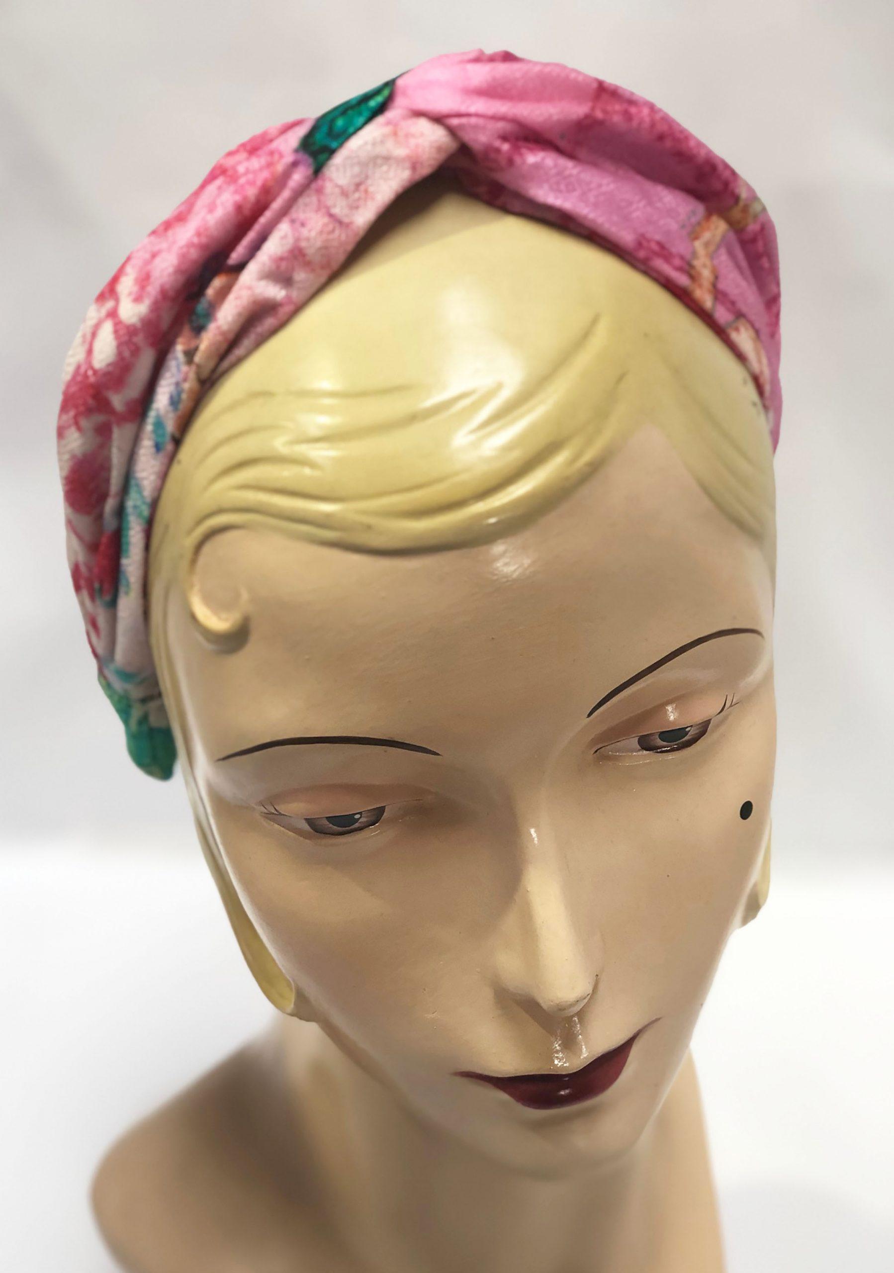 Modal Head Band Pink