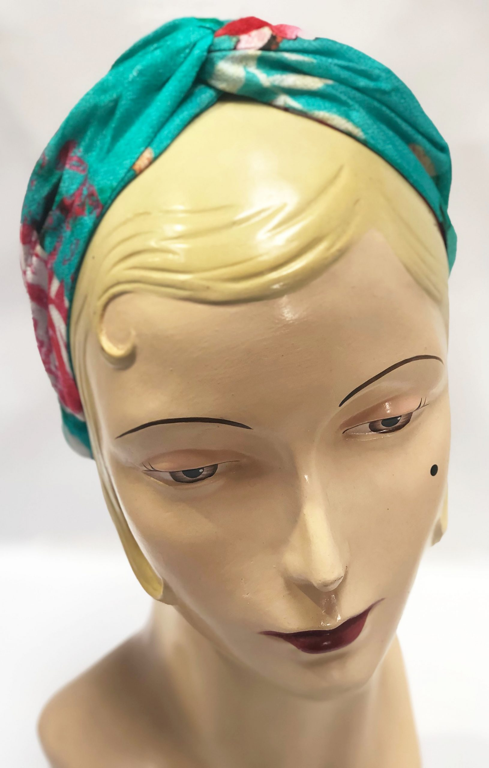 MOdal Head Band Turquoise