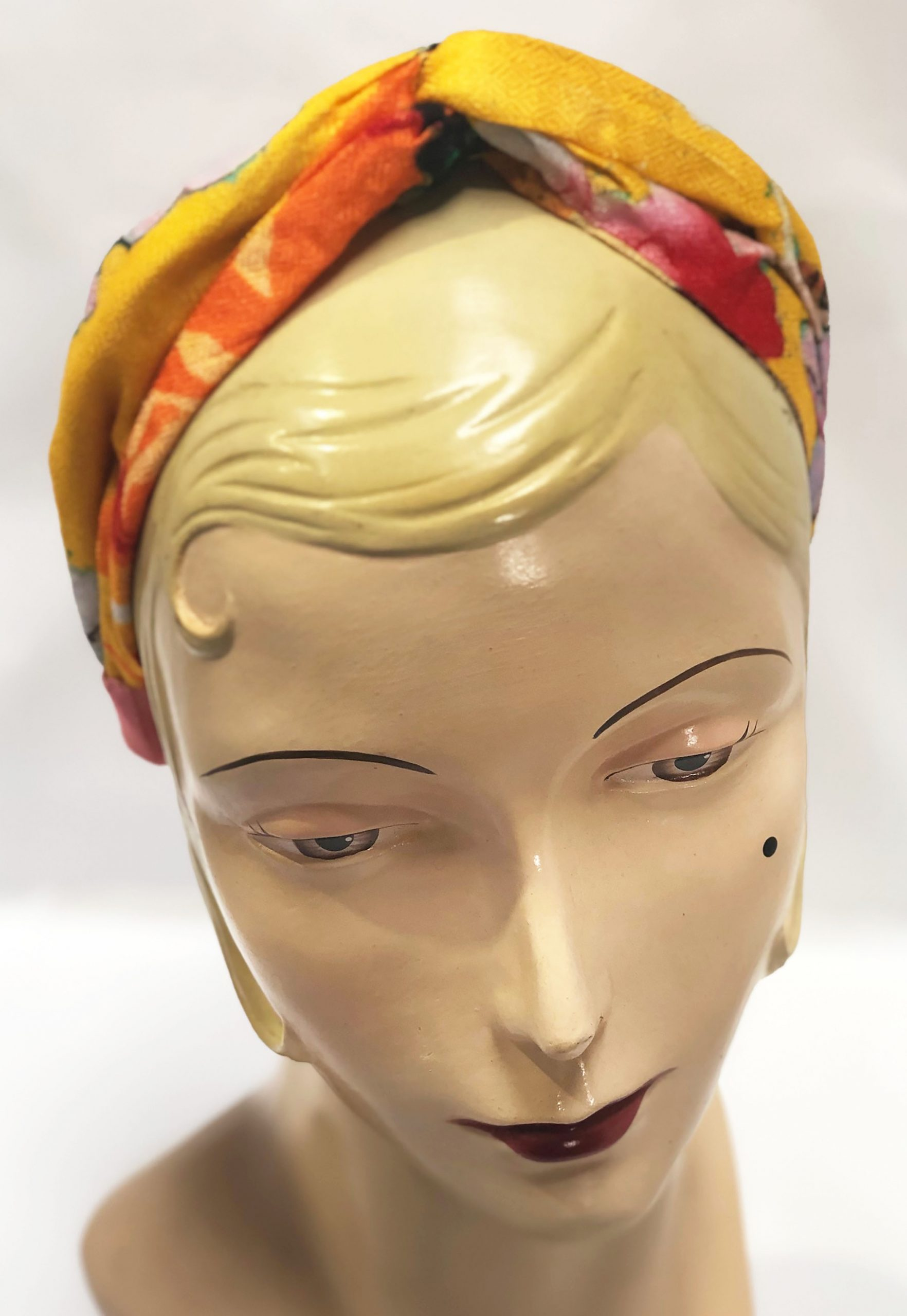 Modal Head Band Yellow