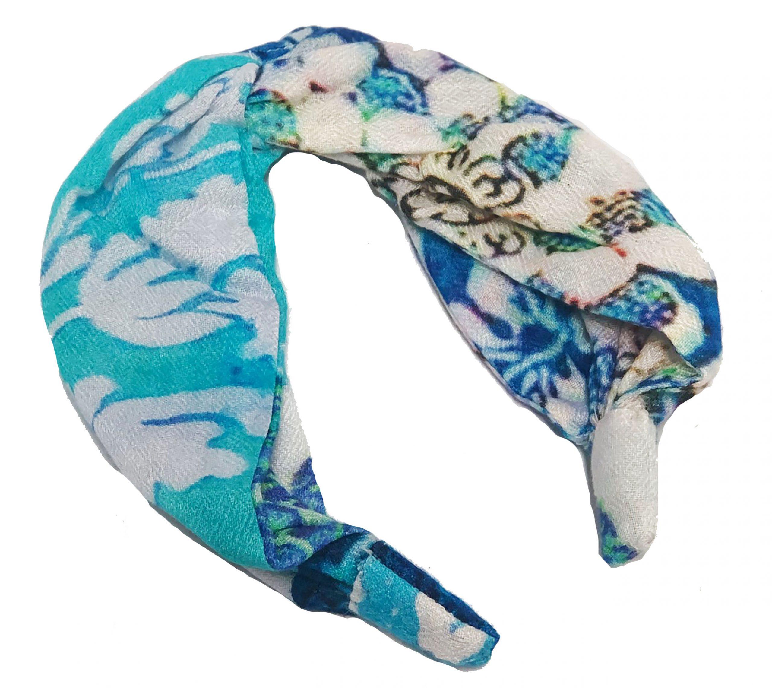 Modal Head Band Blue